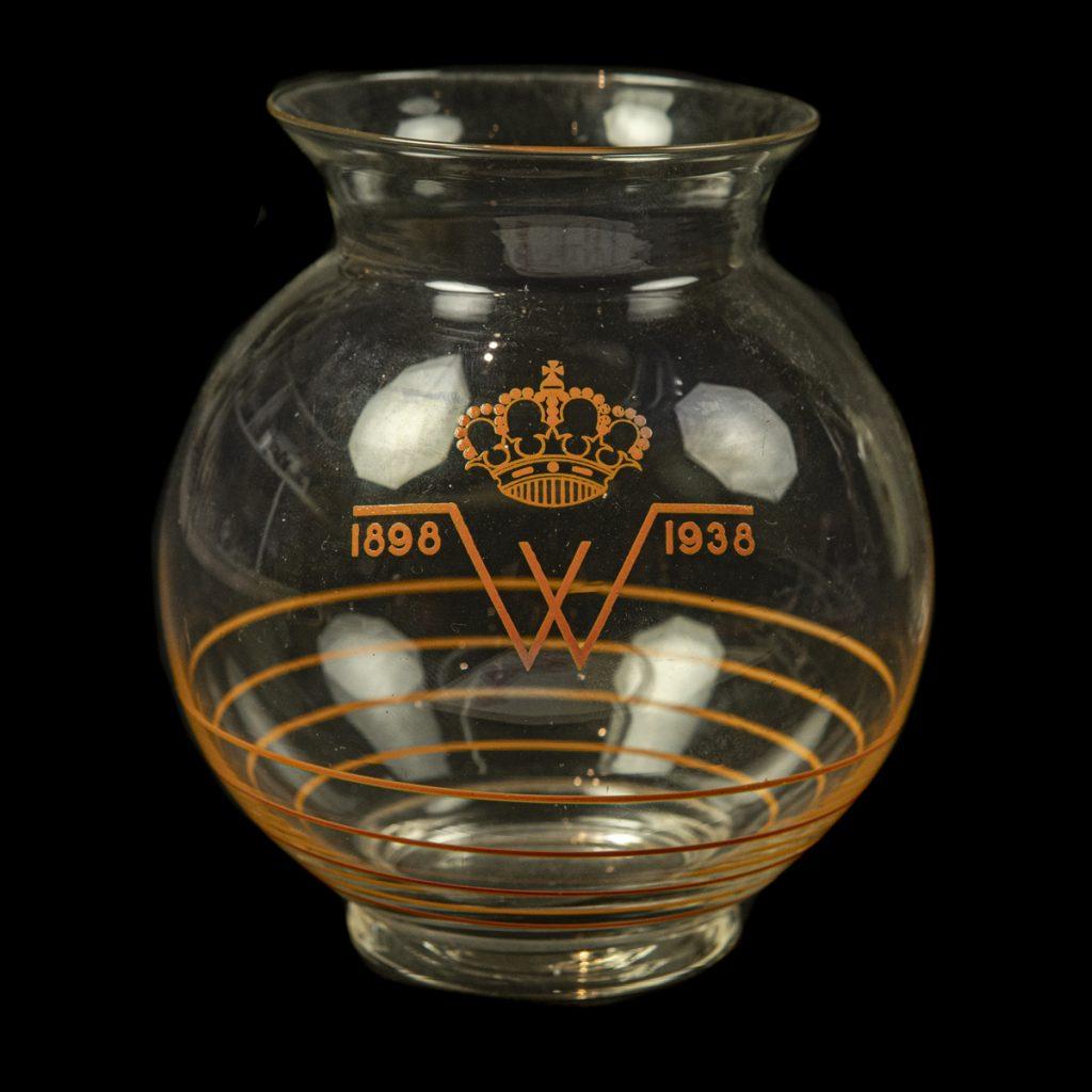 40 jaar Wilhelmina glas
