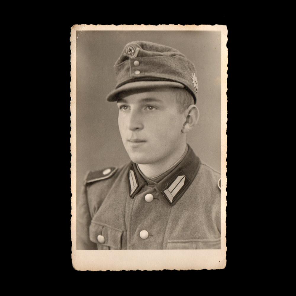 Oostenrijkse vrijwilliger bij de Reichsarbeitsdienst