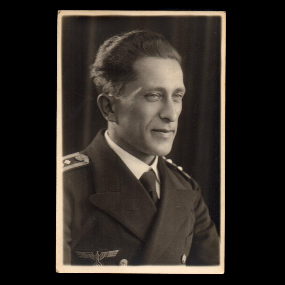 Augustus 1940, 'Zum Andenken an Sylvester 1941, Dein Freund Oskar'