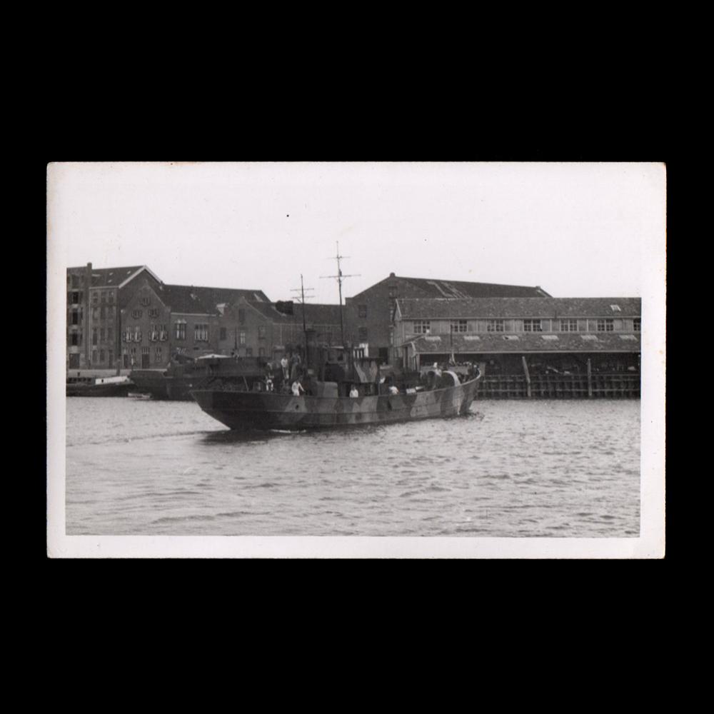 Raümboot te Vlaardingen