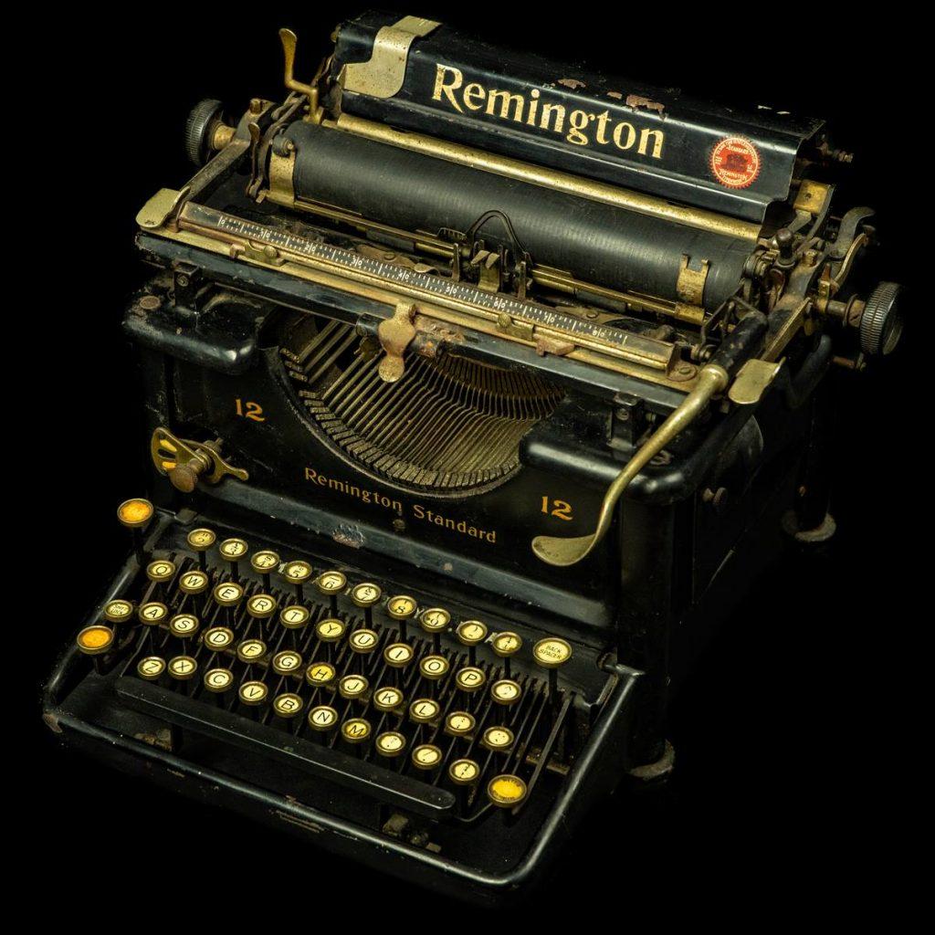Remington typemachine