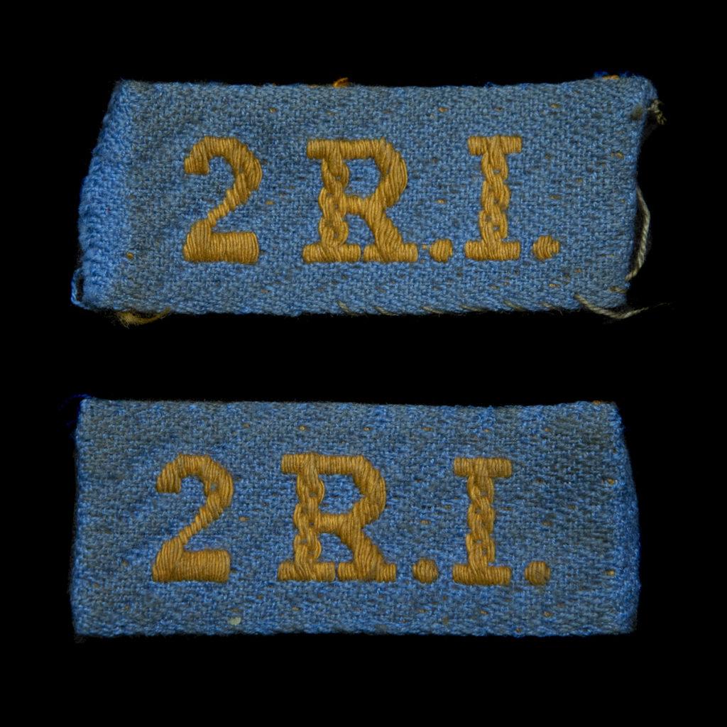 Schouderembleem Korpsonderscheidingsteken 2e Regiment Infanterie