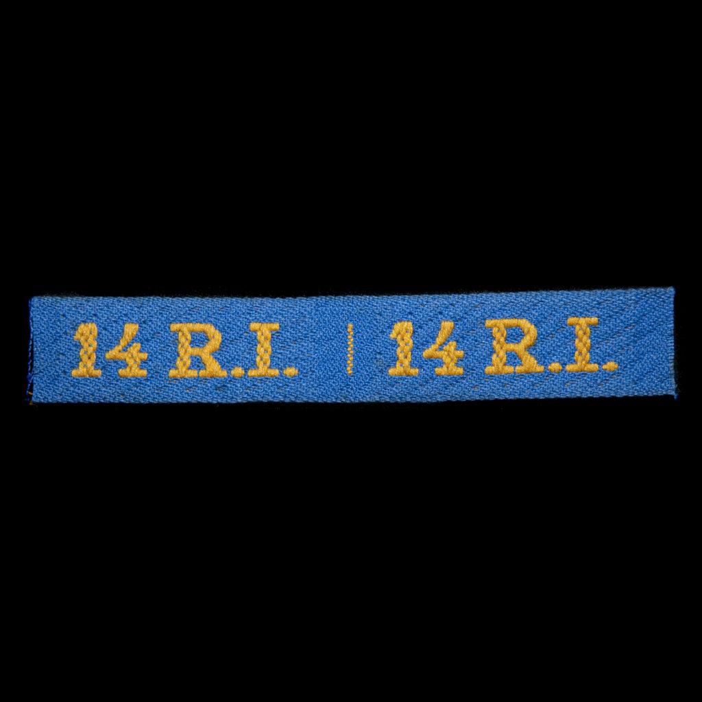 Schouderembleem Korpsonderscheidingsteken 14e Regiment Infanterie