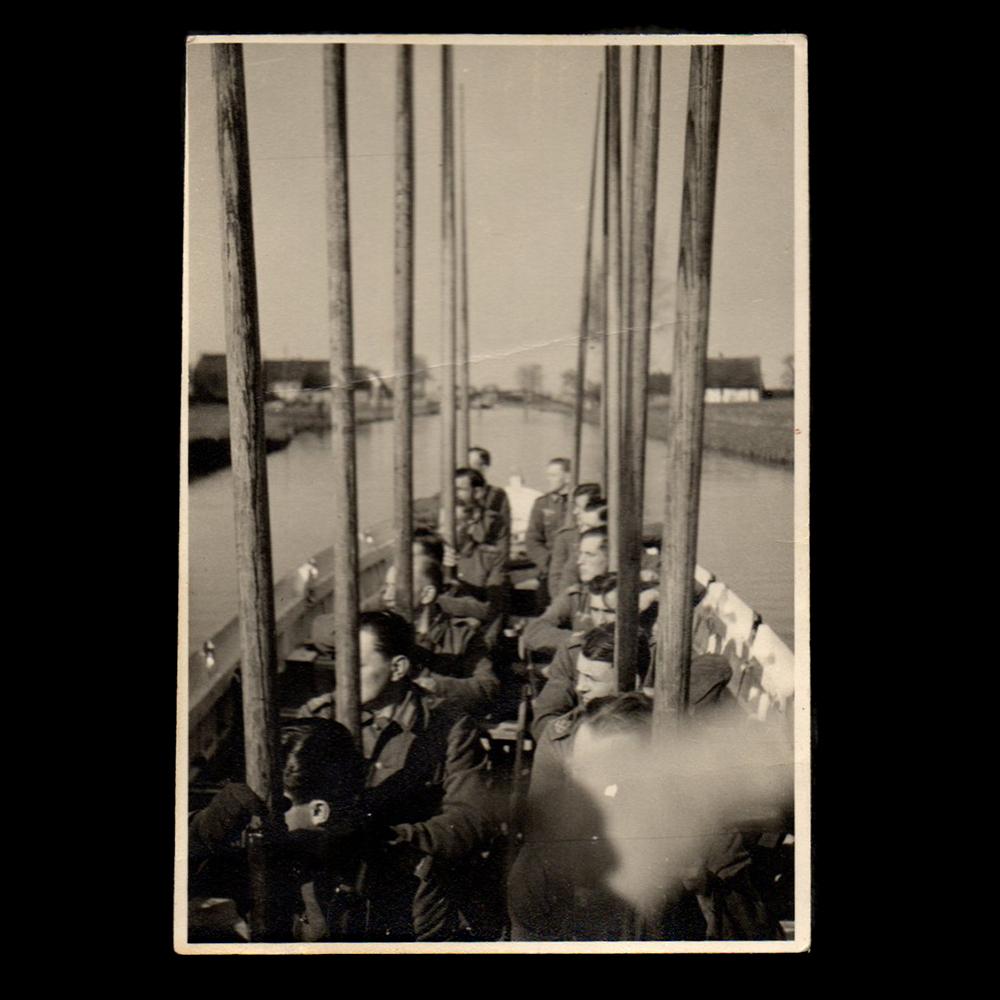 Vlietzicht Schipluiden nach Vlaardingen 1943 [Küstenartillerie]