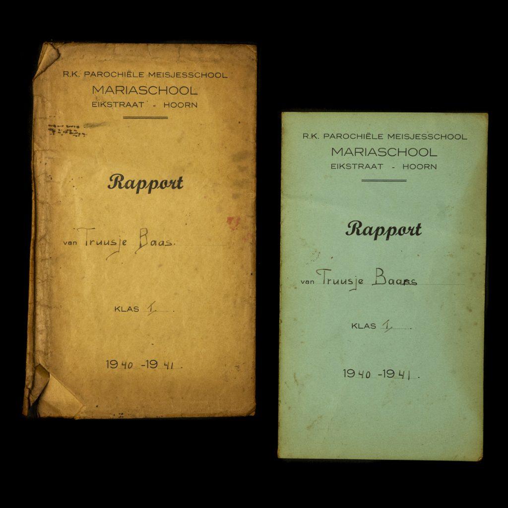 Rapport Truusje Baars 1940-1941