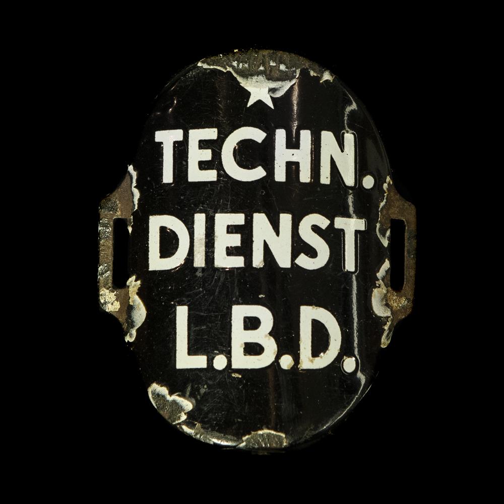 Emaille Armband TECHNISCHE DIENST L.B.D.