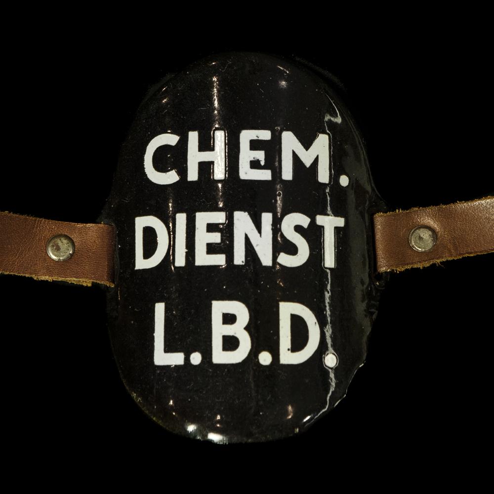 Emaille Armband CHEMISCHE DIENST L.B.D.