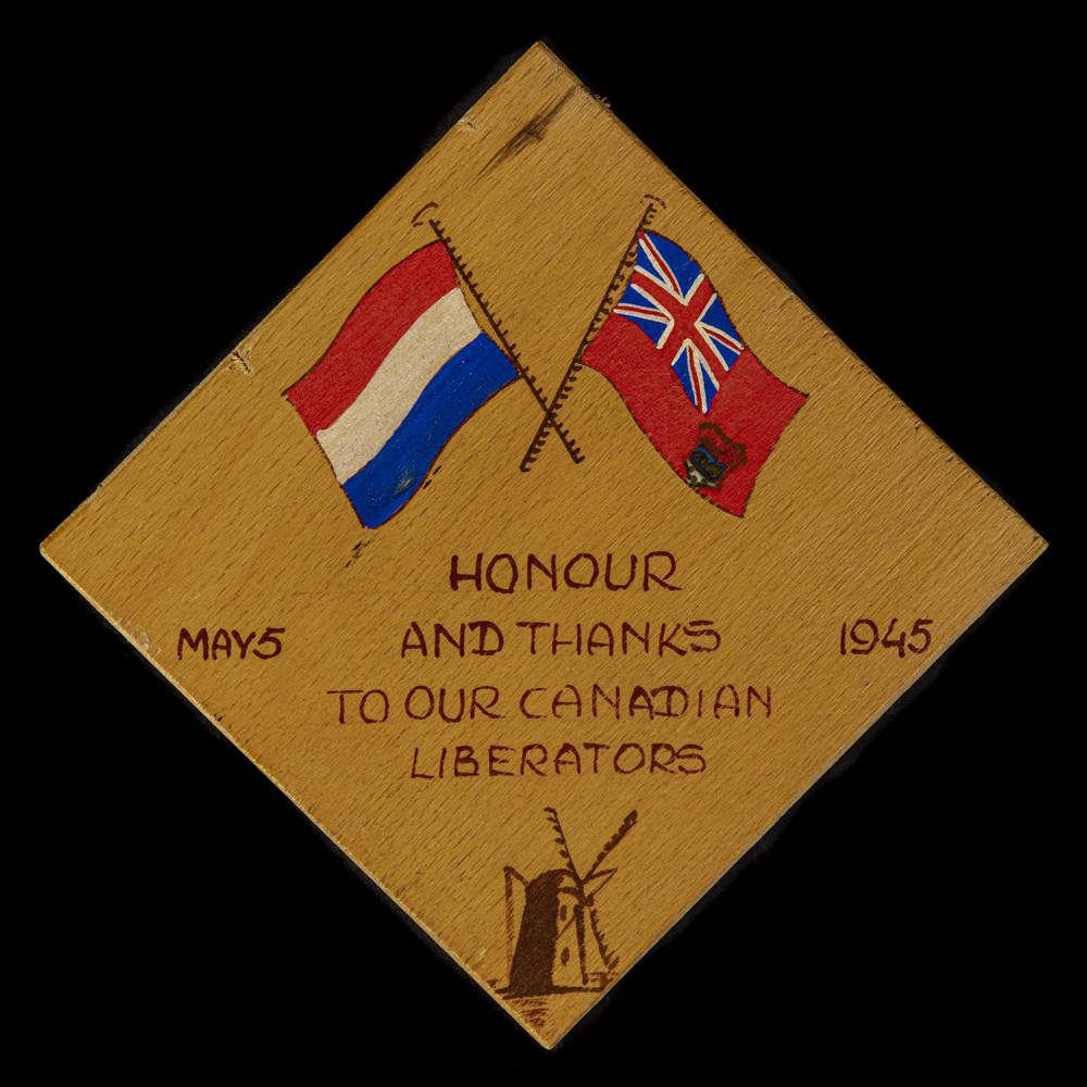 Honor and Thanks to our Canadian Liberators May 5 1945
