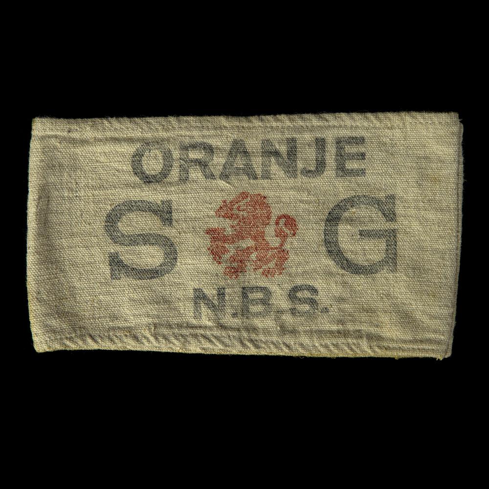 ORANJE SG N.B.S. armband