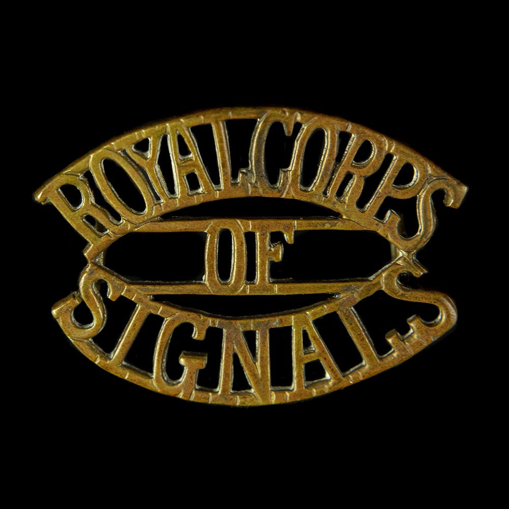 Royal Corps of Signals schouderembleem