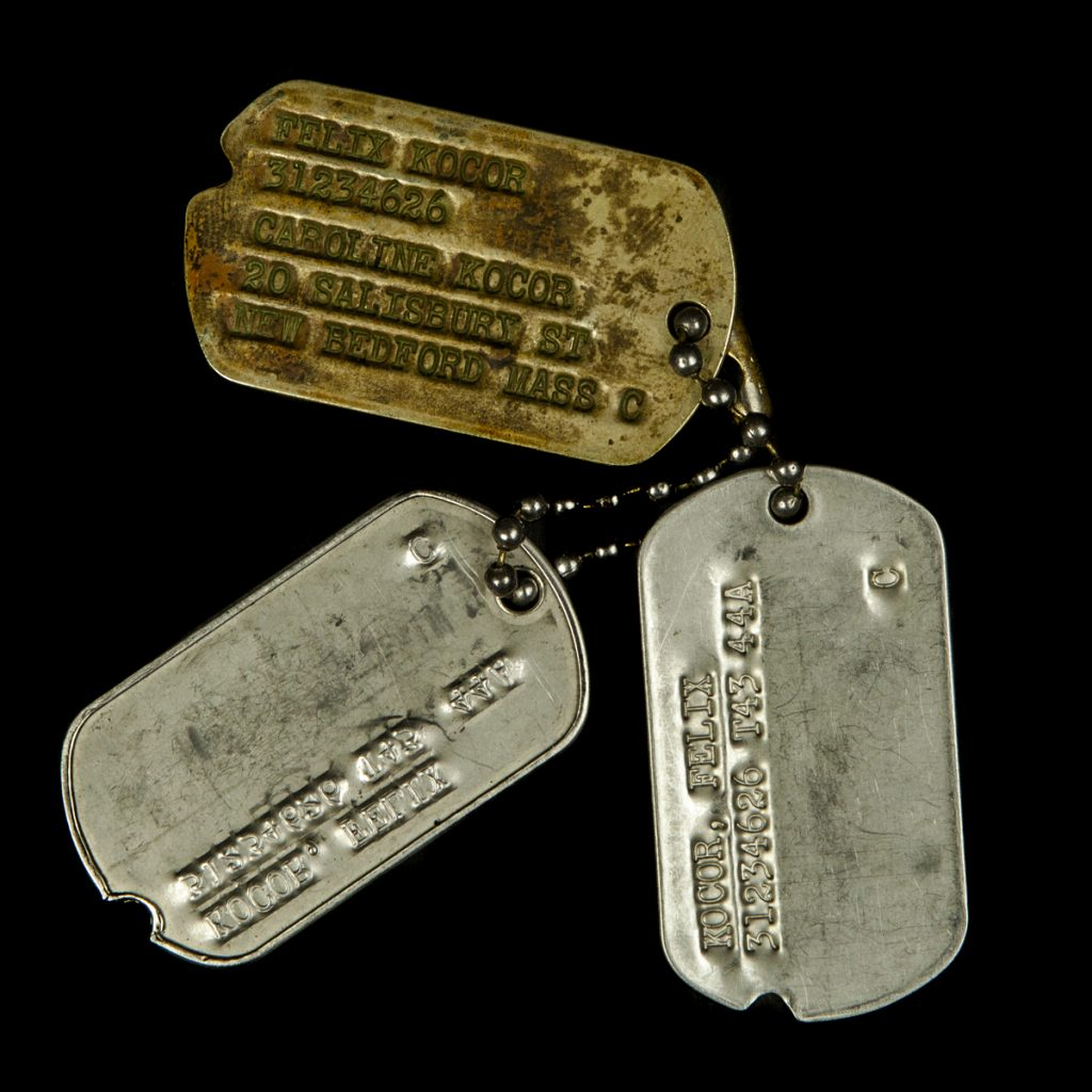 US dogtags Felix Kocor