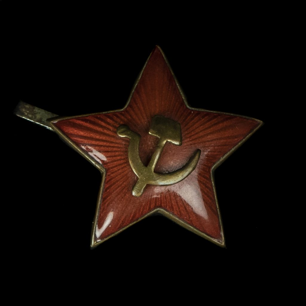 Russische capbadge