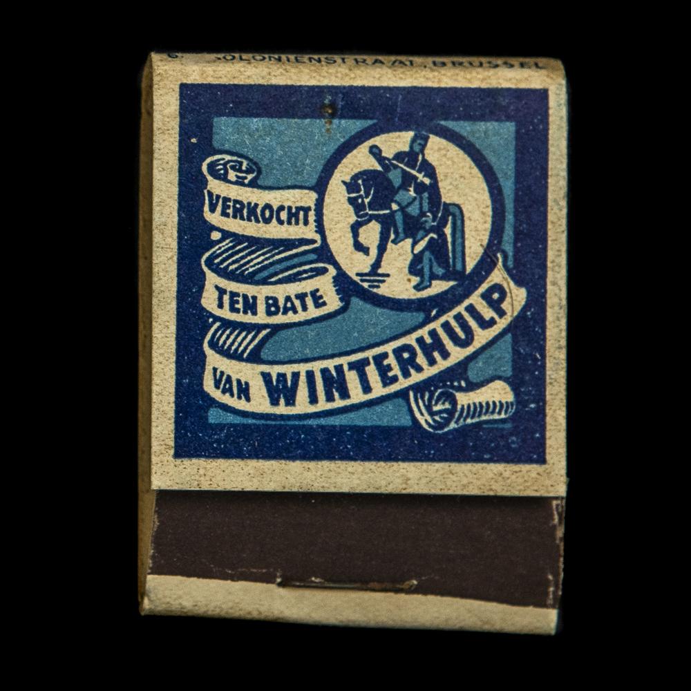 Winterhulp België lucifers