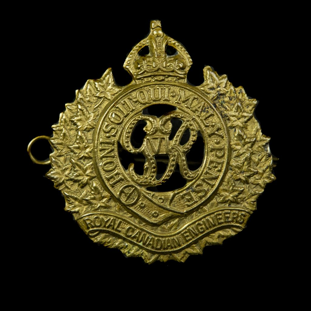 Royal Canadian Engineers capbadge