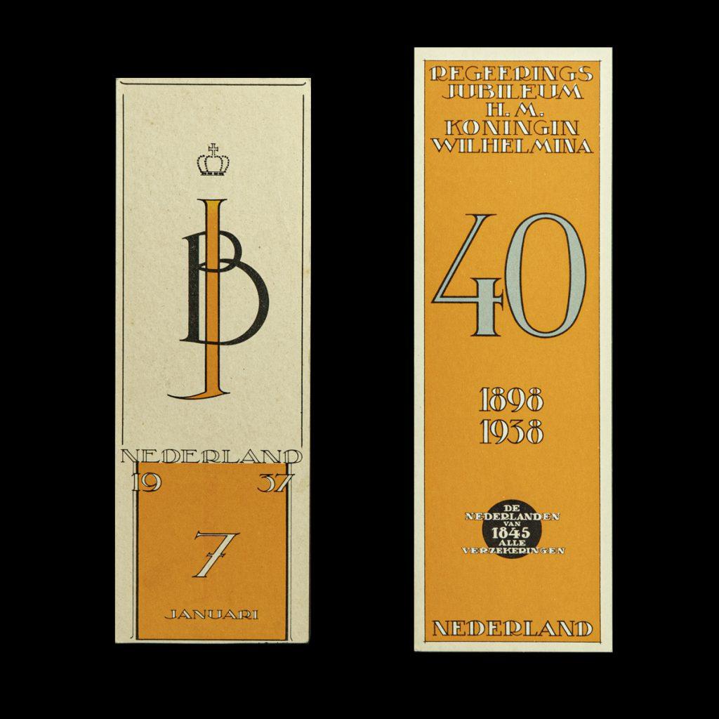 Boekenleggers 1937 & 1938