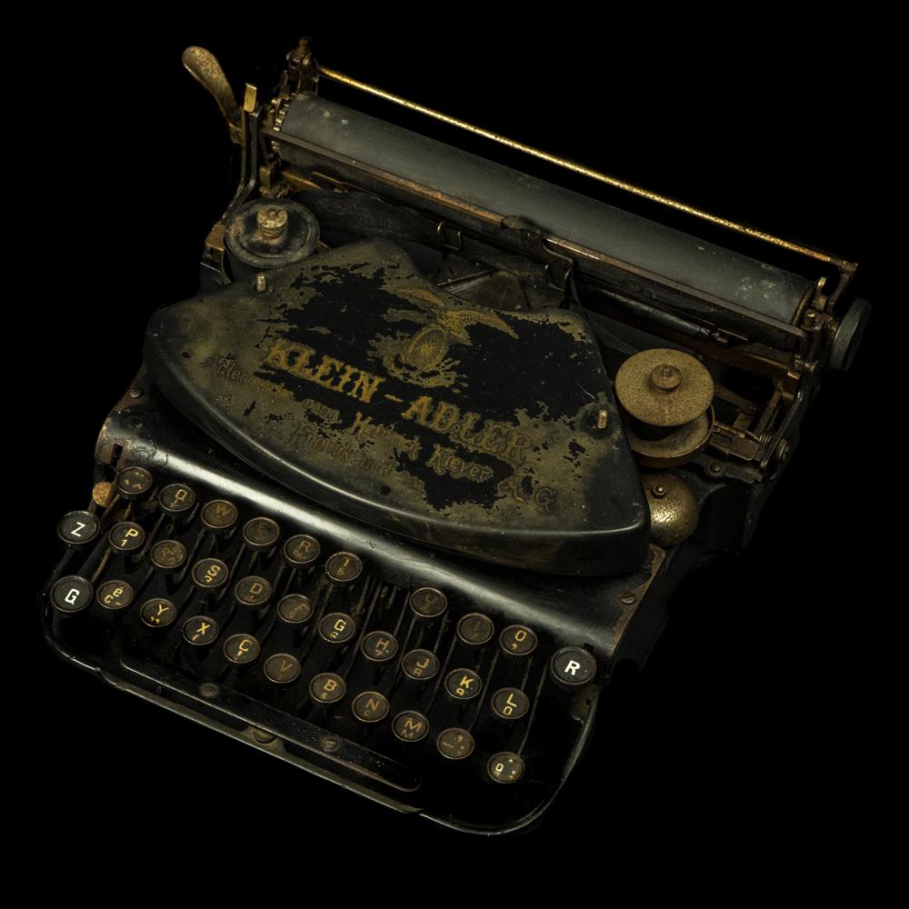 Klein Adler typemachine
