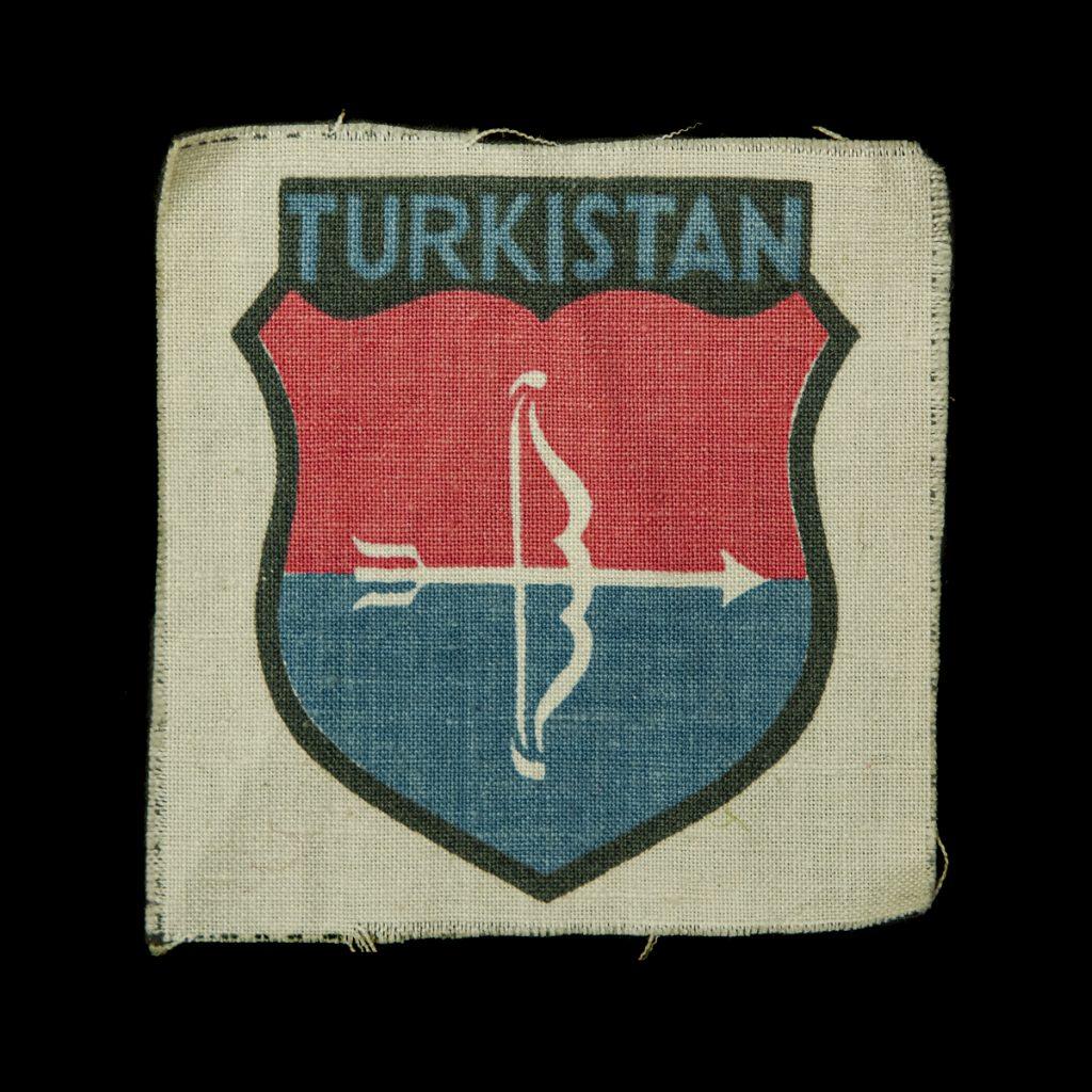 Turkistan Vrijwilligers Armschildje