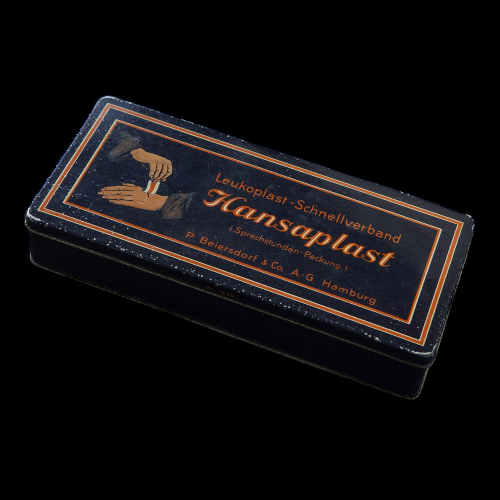 Duitse Hansaplast doos