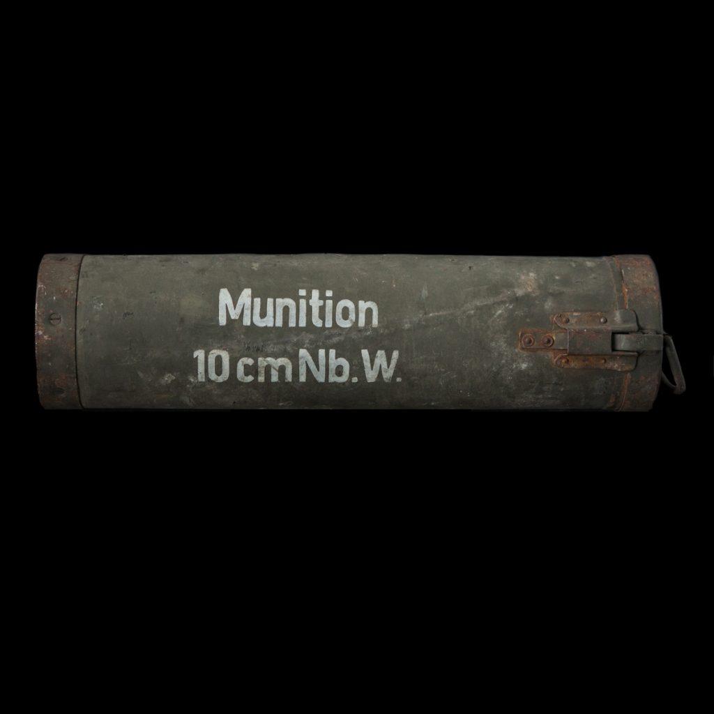 Munition 10cm Nebelwerfer koker