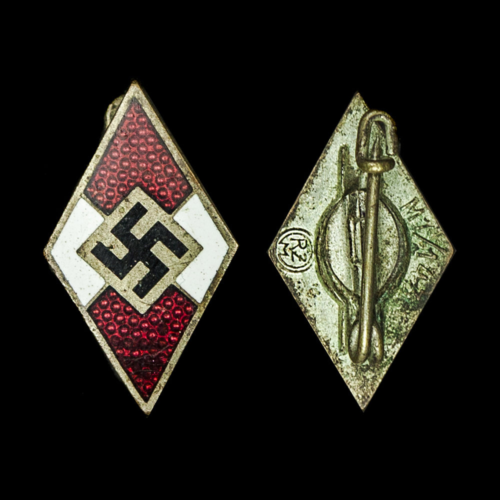 Hitler Jugend Lidmaatschapspeldje RZM M1/143