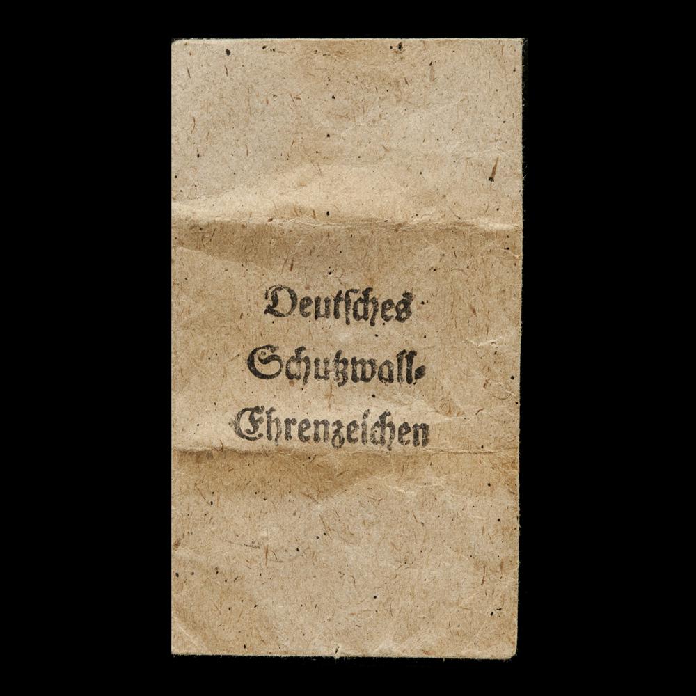 Deutsches Schutzwall-Ehrenzeichen medaillezakje