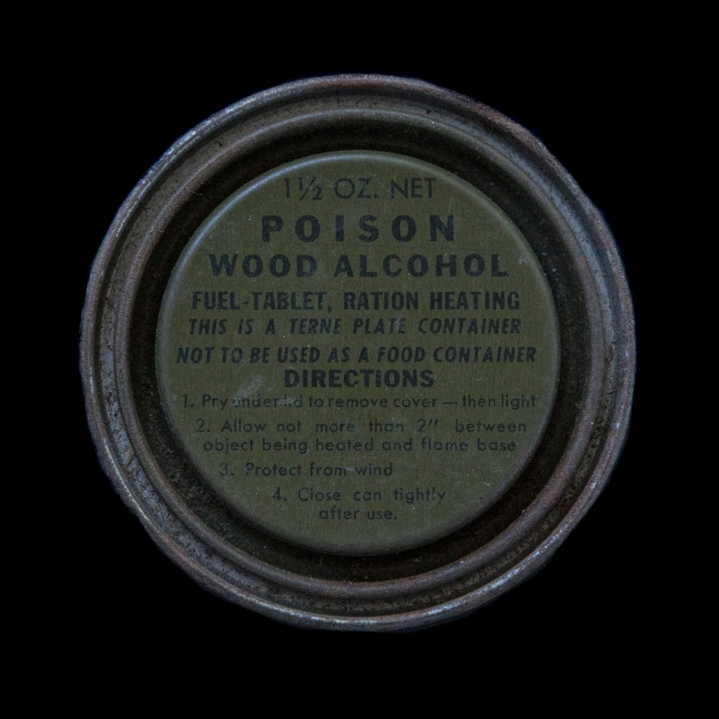 US Poison Wood Alcohol