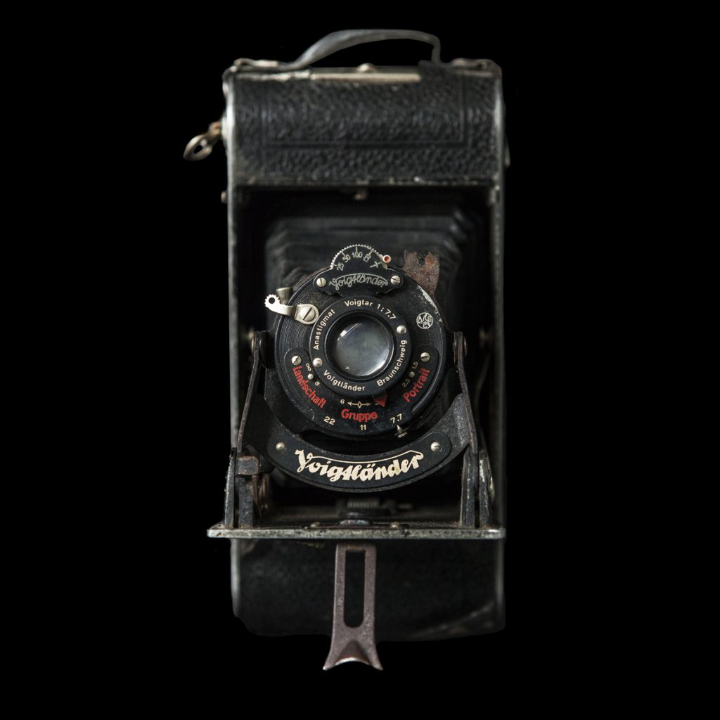 Duitse Voigtländer klapcamera