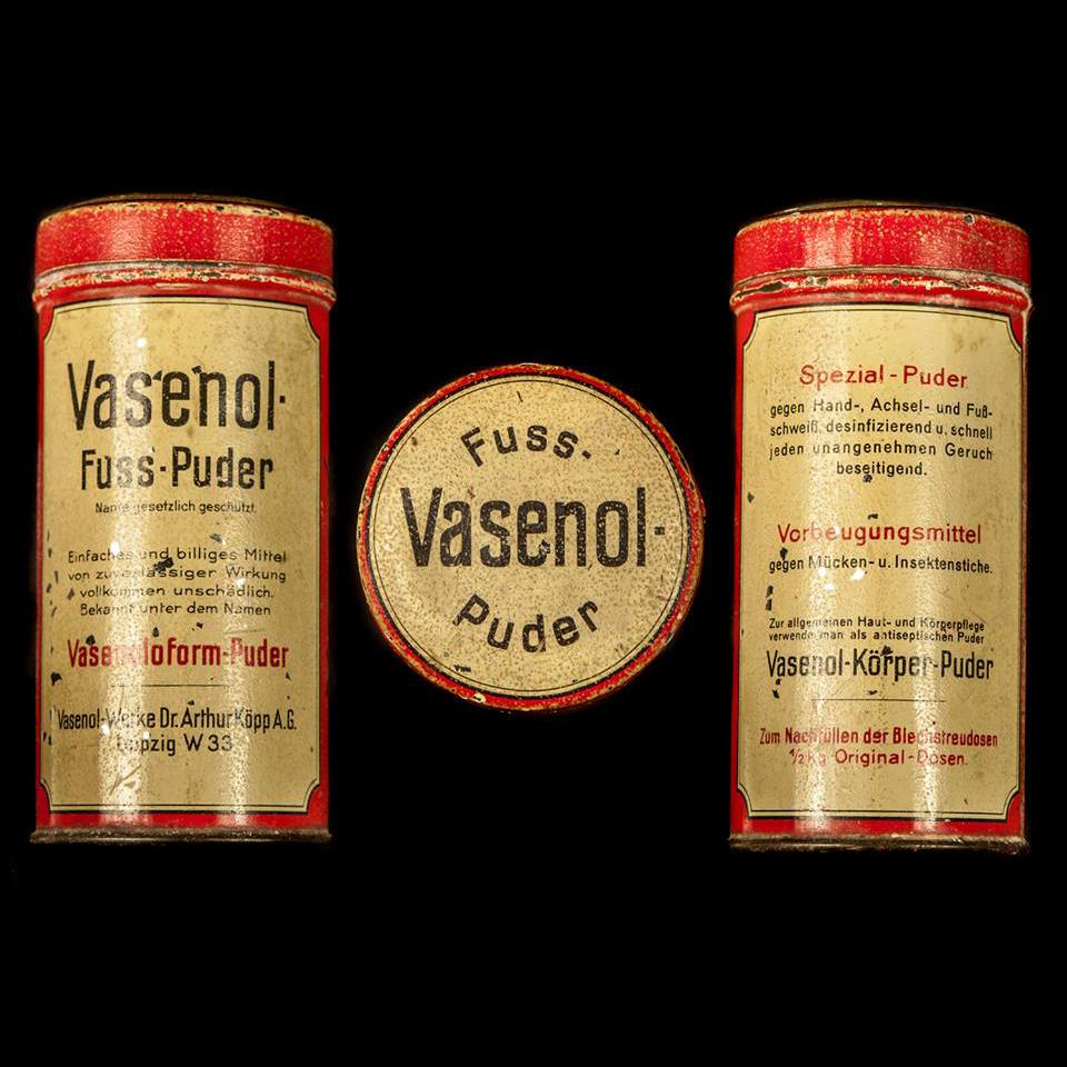 Vasenol Fuss Puder