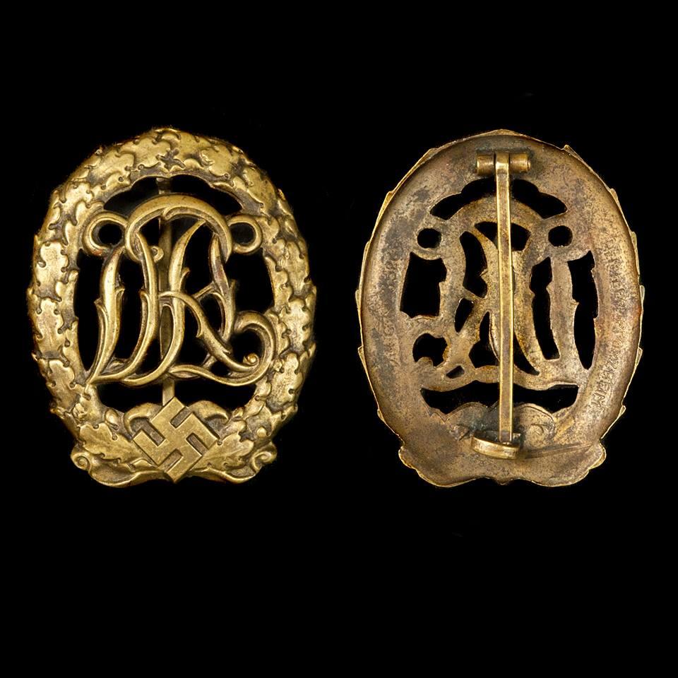 DRL Sportabzeichen in brons