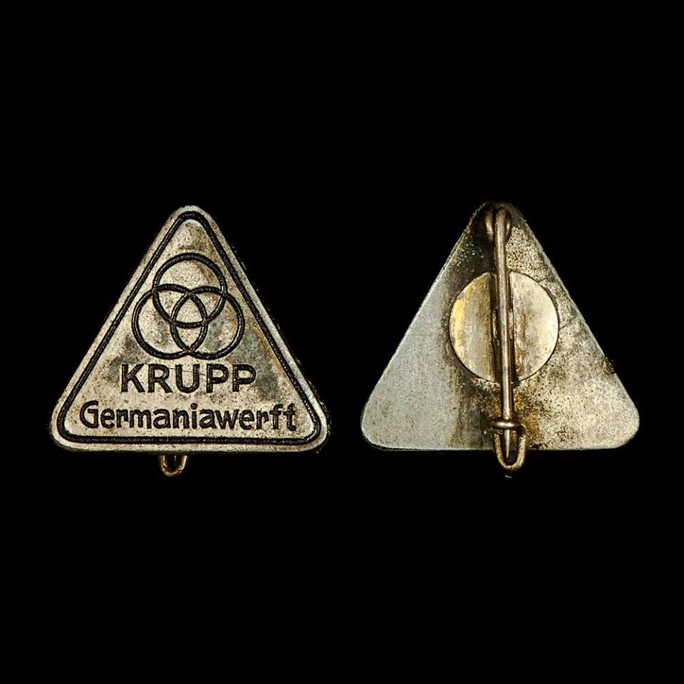 Krupp Germaniawerft speld van Vlaardinger Leen Reedijk