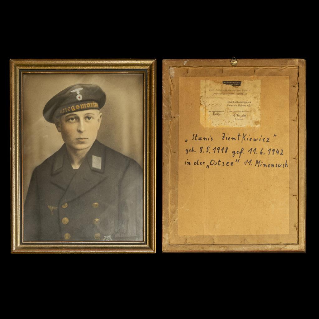 Stanis Zienkiwicz geb. 8.5.1918 gef. 11.6.1942 in der Ostsee 11. Minensuch