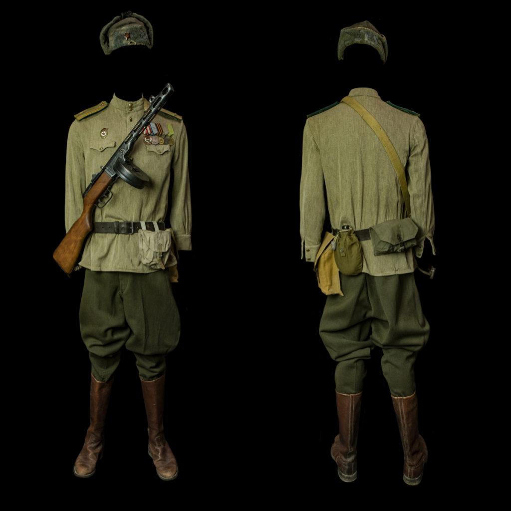 Russische officier Grenstroepen
