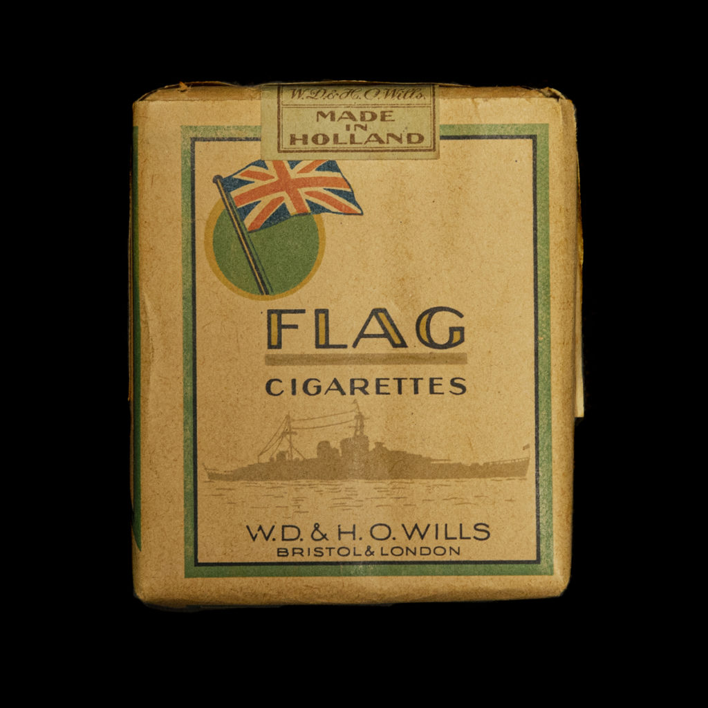 Flag Cigarettes Made in Holland