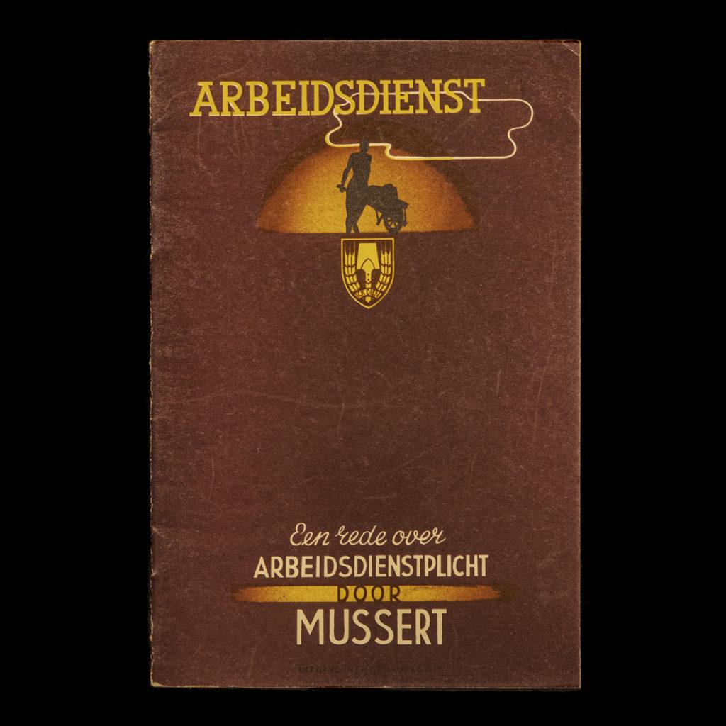 Een rede over ARBEIDSPLICHT door MUSSERT