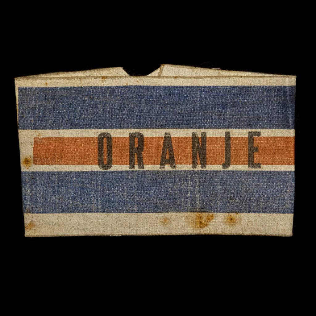 Armband Oranje met stempel