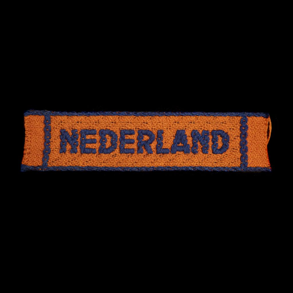 Schouderembleem Stoottroepen Der Nederlandsche Binnenlandse Strijdkrachten.