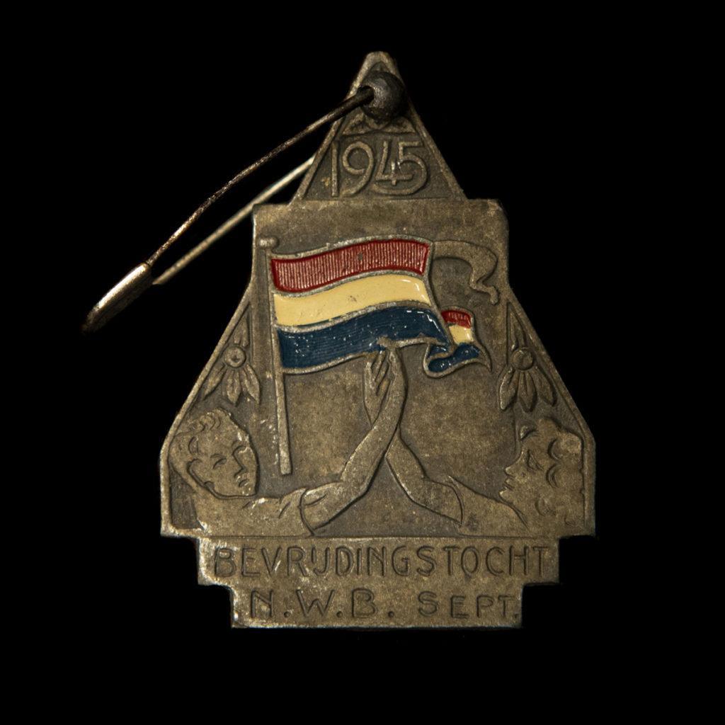 Hangertje 1945 Bevrijdingstocht N.W.B. Sept.