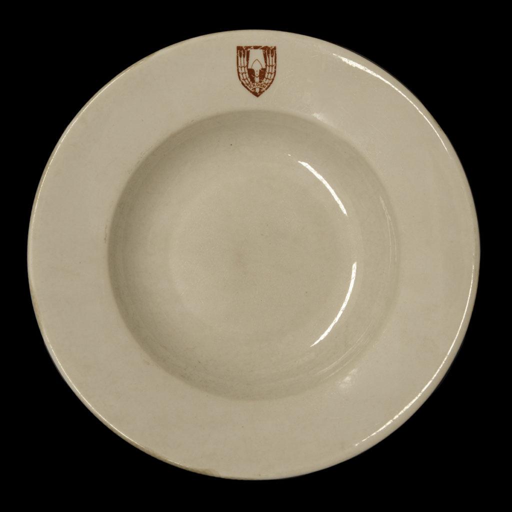 Nederlandsche Arbeidsdienst – Ick Dien' soepbord 1941