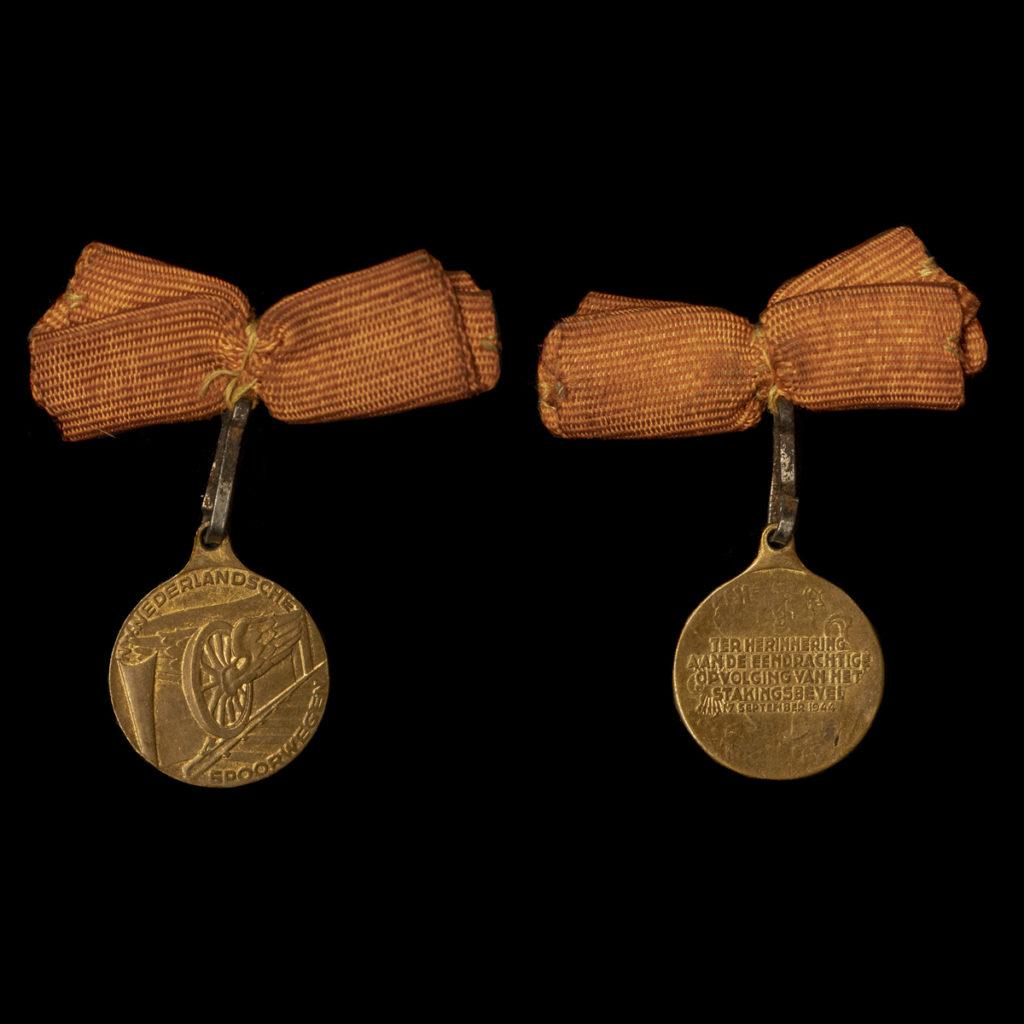 Medaille Spoorwegstaking 1944