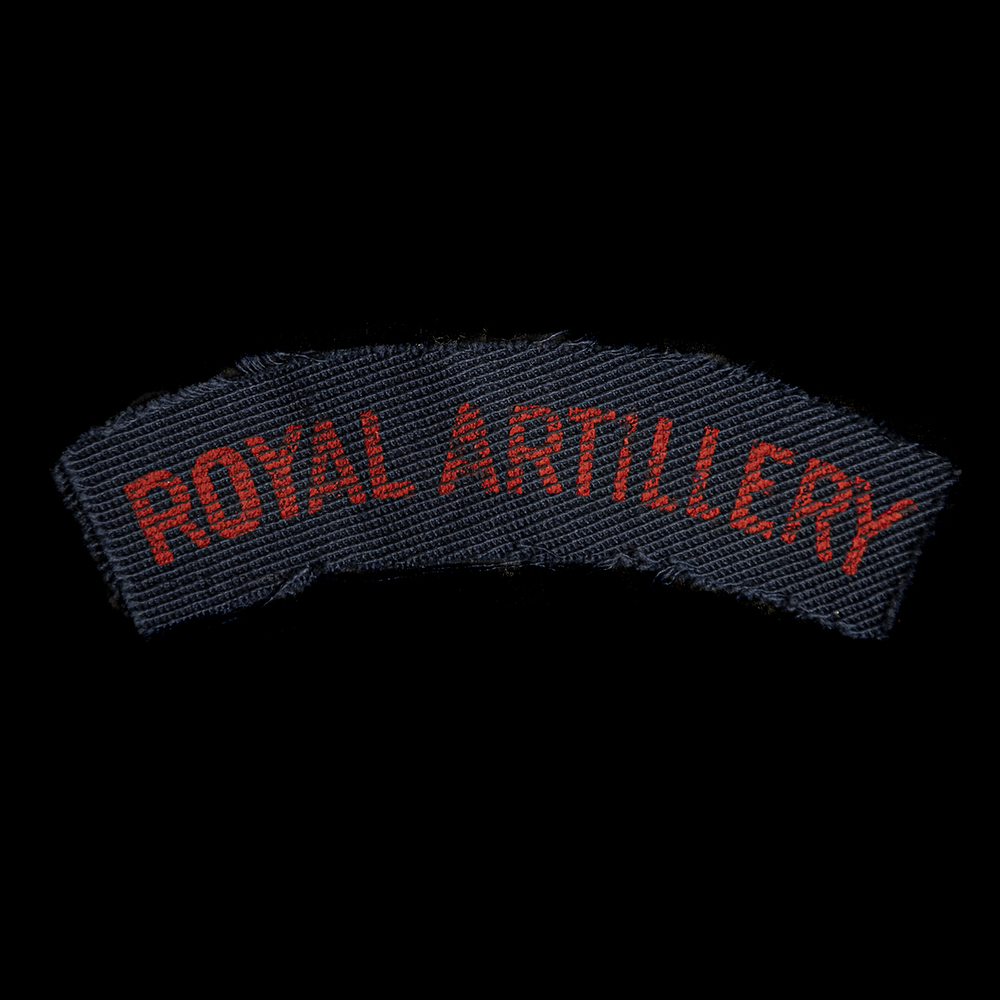 Britse Royal Artillery armembleem