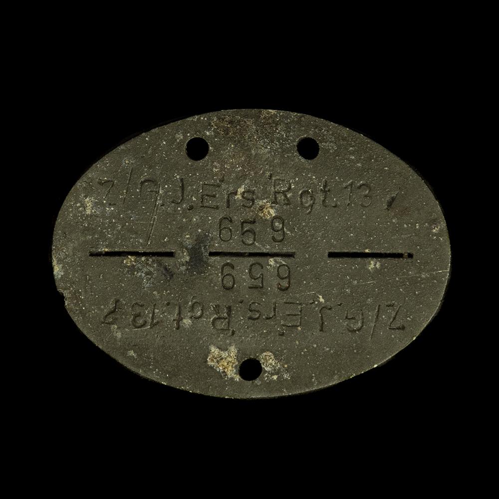 Erkennungsmarke Z/G.J. Ers. 'Rgt.13 659