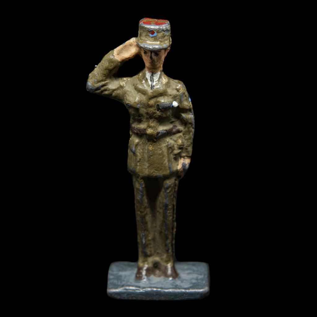 Speelgoed De Gaulle van lood