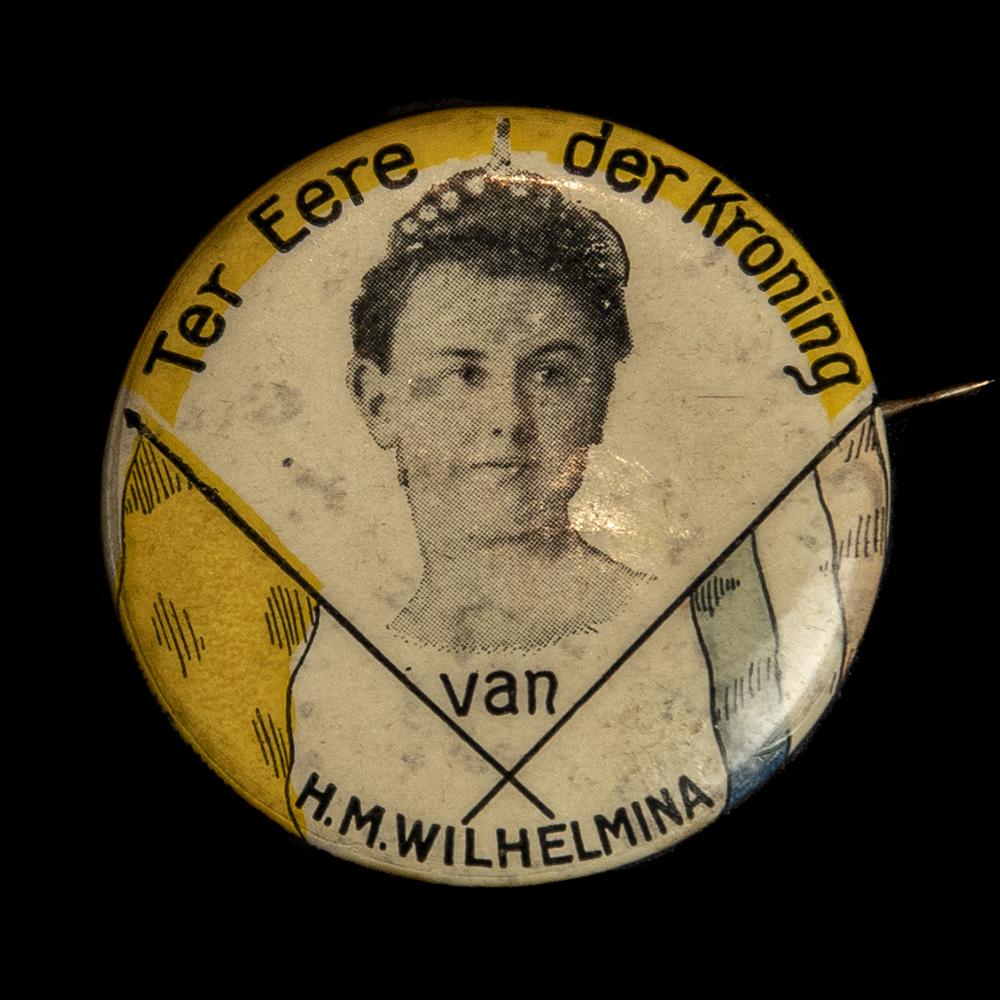 Ter Eere der Kroning van H.M. Wilhelmina