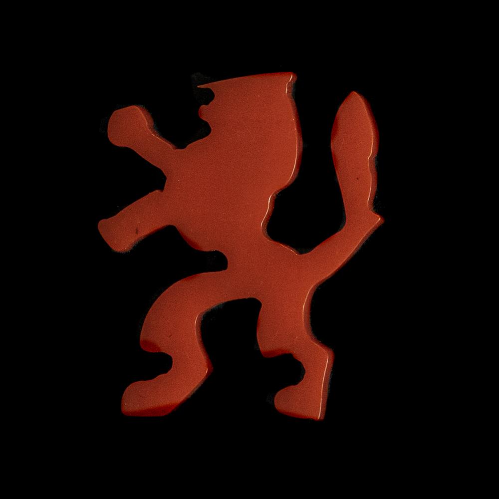 Oranje leeuw speld