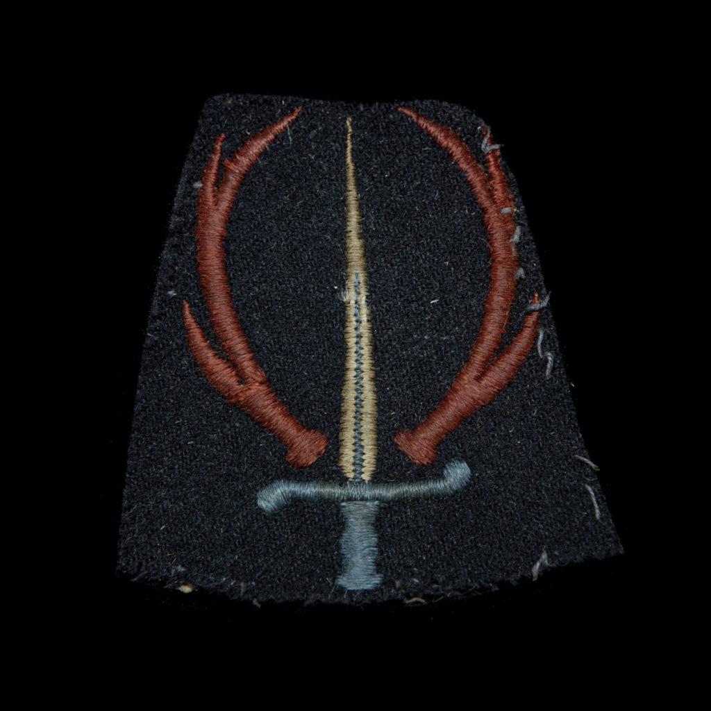 Mouwembleem Stoottroepen 1944-1945