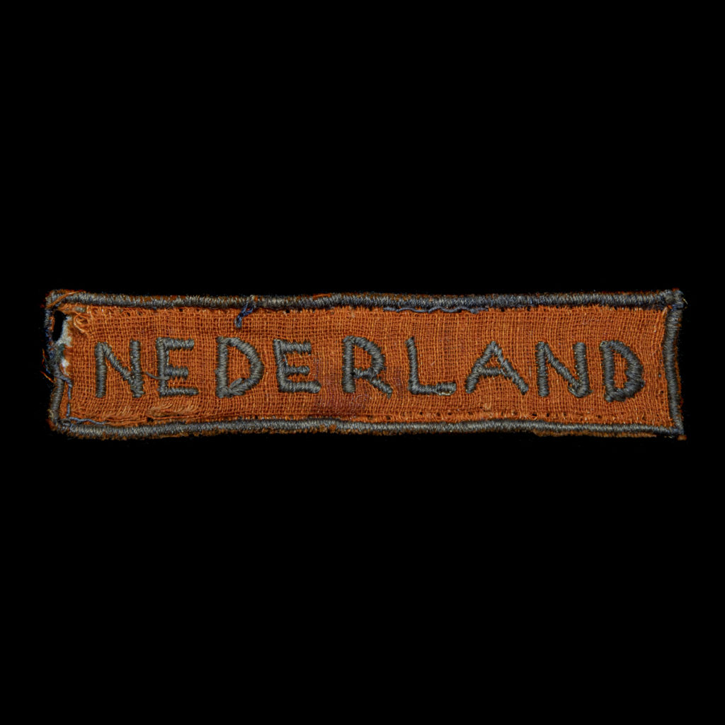 Schouderembleem Stoottroepen der Nederlandsche Binnenlandsche Strijdkrachten