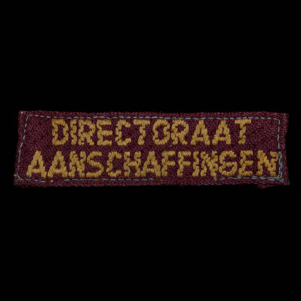 Directoraat Aanschaffingen Brabants weefsel