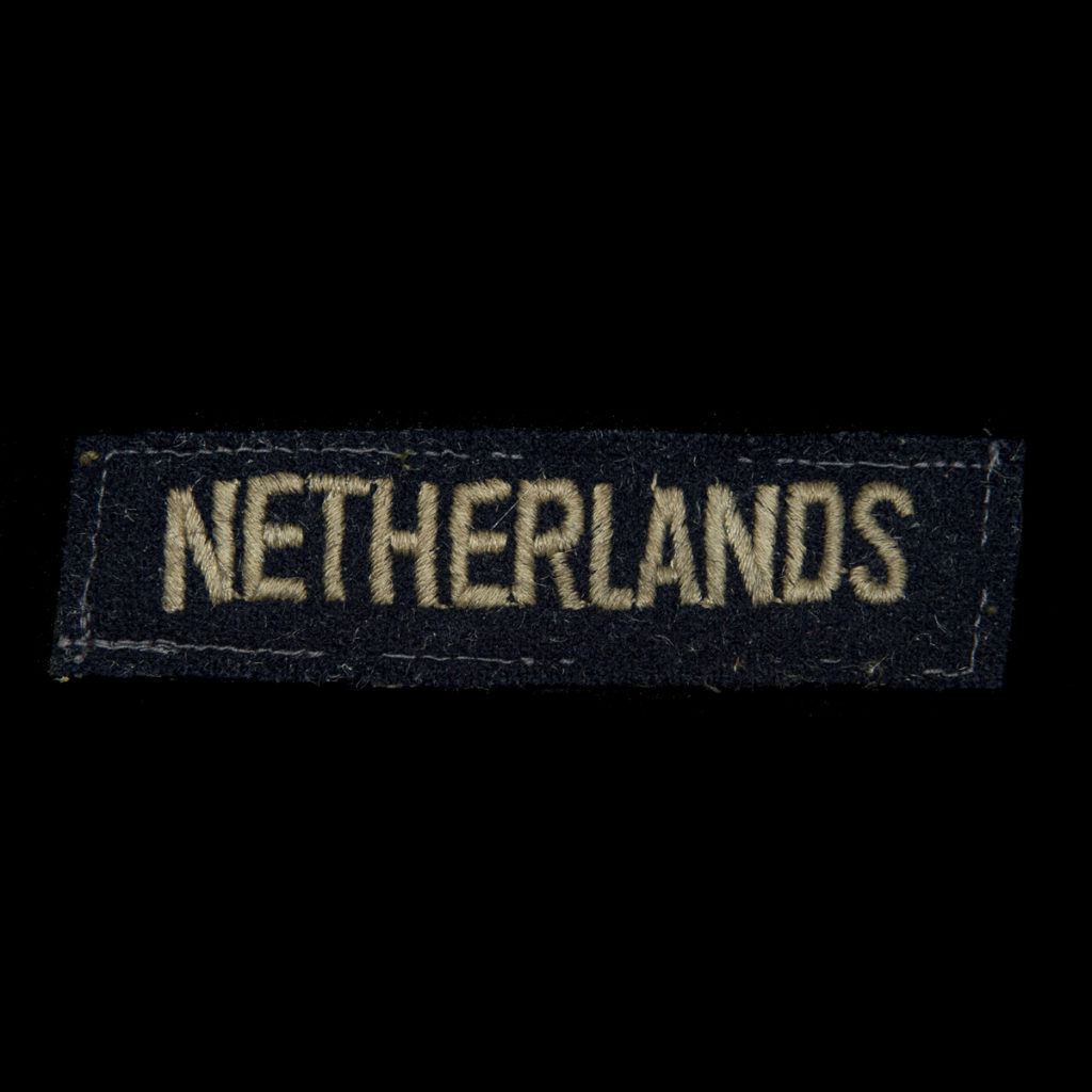 Schouderembleem NETHERLANDS