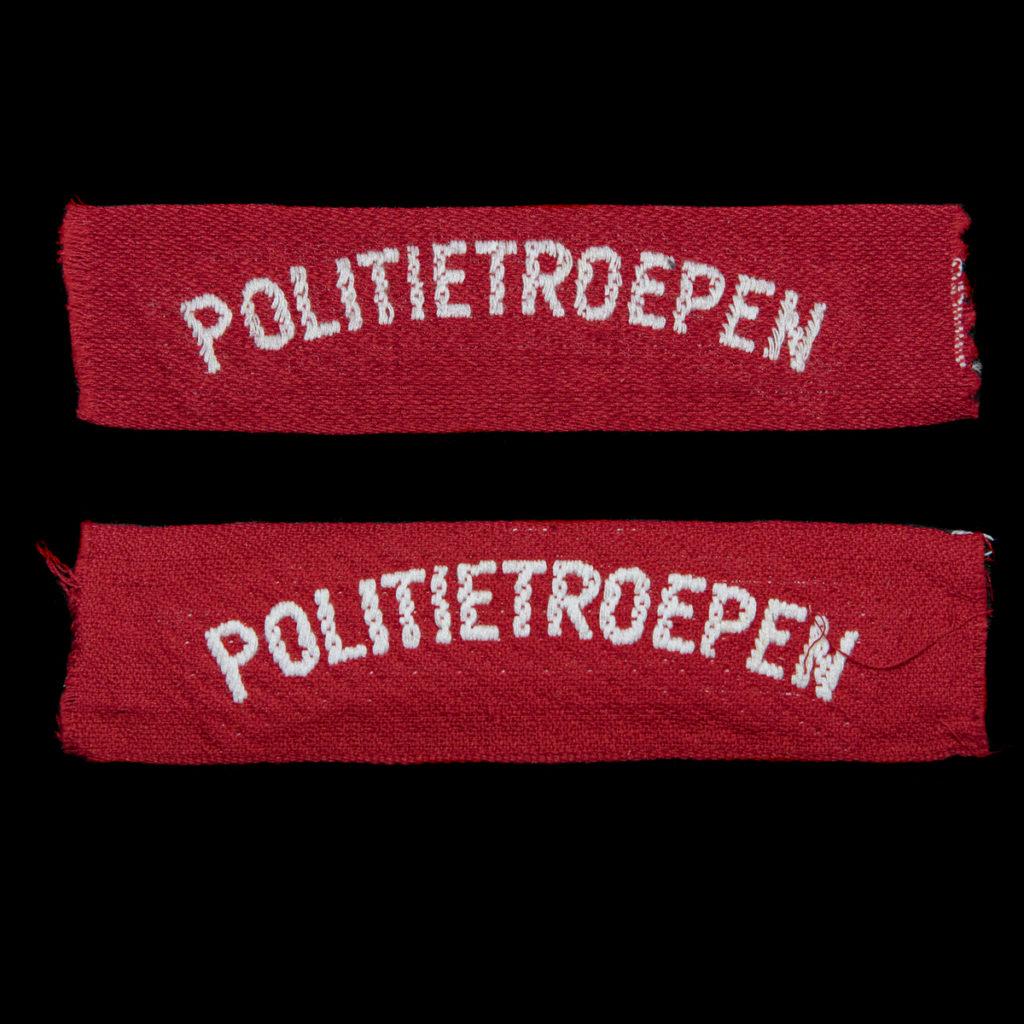 Politietroepen Brabants weefsel 1945-1946