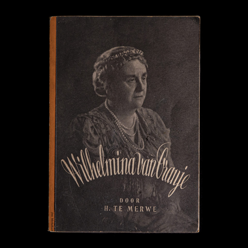 Wilhelmina van Oranje – H. te Merwe 1939